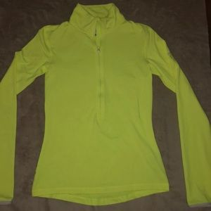 Neon Yellow Nike dri-fit sweatshirt